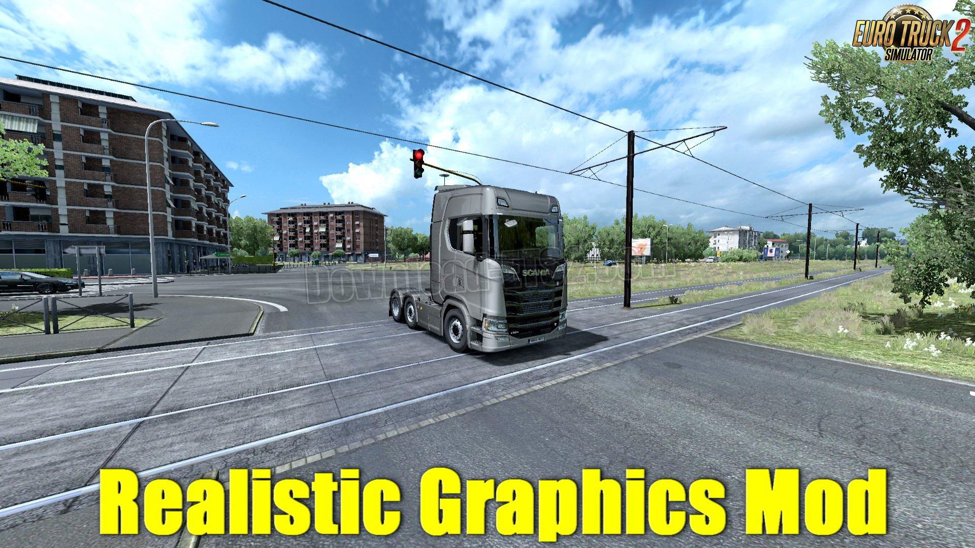 Download Realistic Graphics Mod v2 0 by Berat Afşin (1 32 x) for ETS
