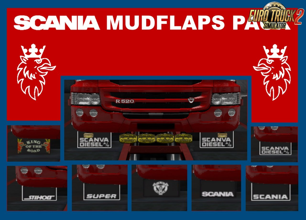 Scania Mudflaps Pack by LandyKieran for Ets2