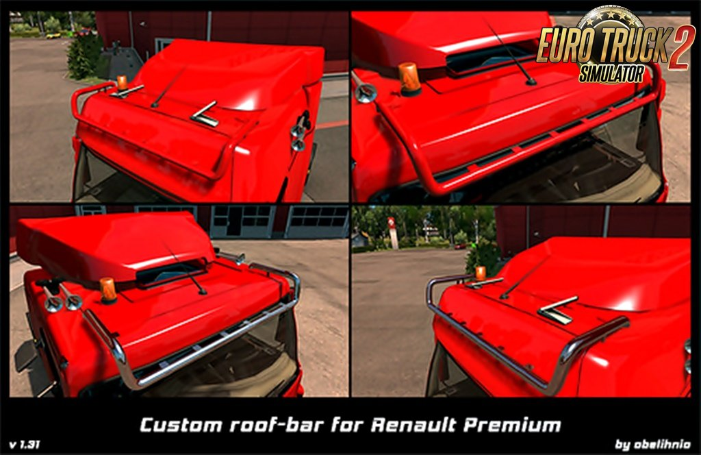 Roofbar for Renault Premium v1.32 by Obelihnio