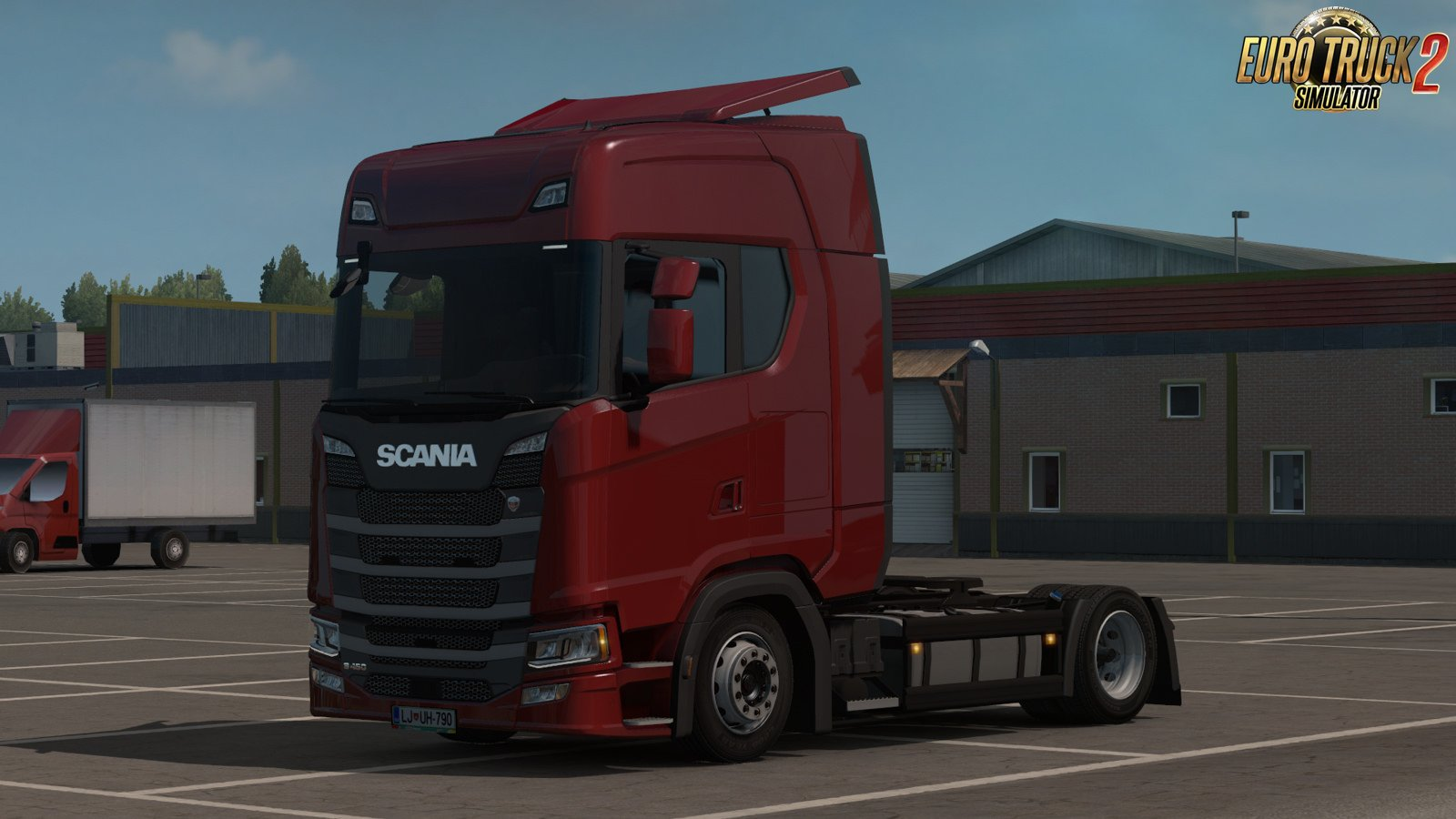 Low deck chassis addon for Scania S&R Nextgen v1.4 by Sogard3