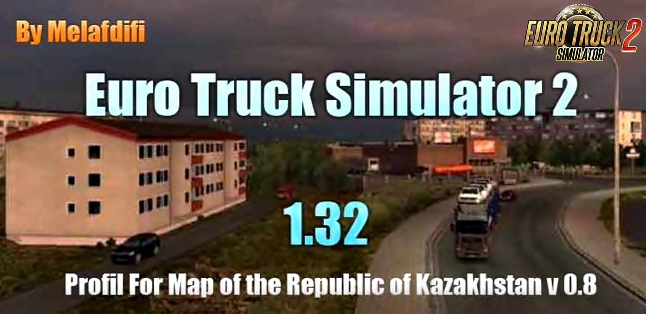 Profil For Map of the Republic Kazakhstan v0.8 for Ets2