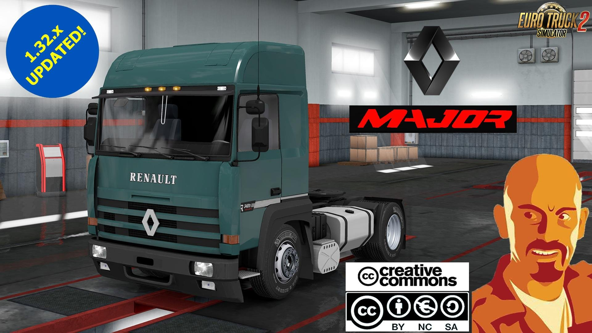 Renault Major edited for Ets2 [1.32.x]