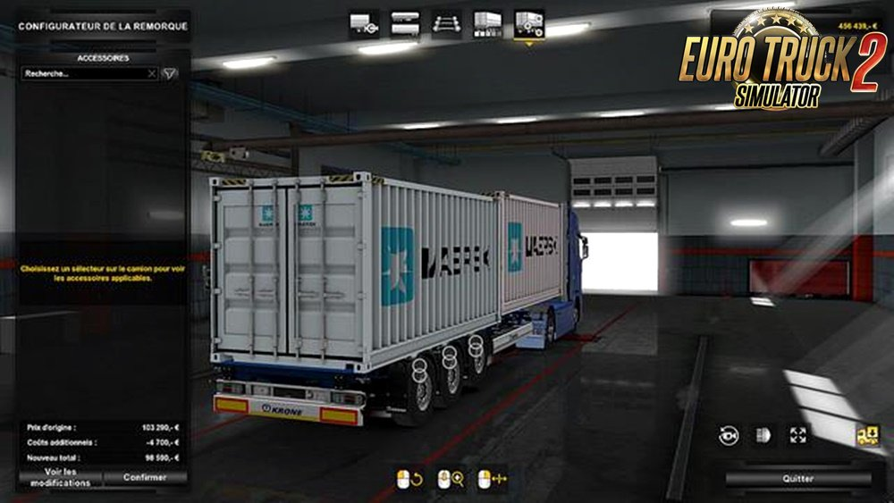 Krone container 2x20ft by MDModding