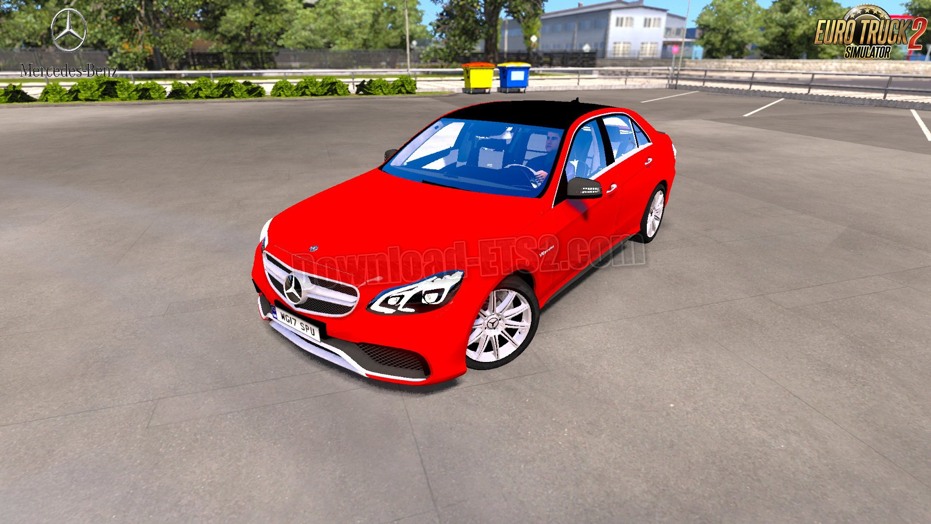 Mercedes Benz E63 AMG 2016 + Interior v1.2 (1.32.x)