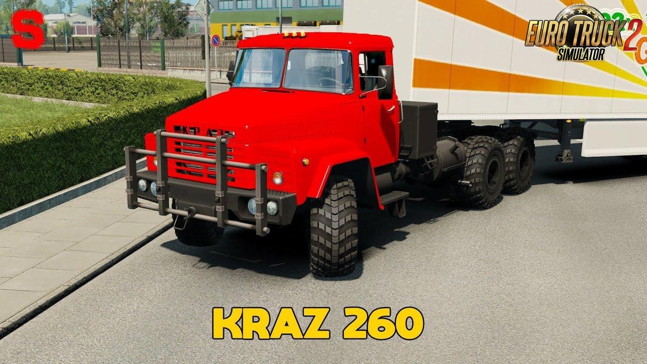 KrAZ 260 (1.32.x) - Euro Truck Simulator 2