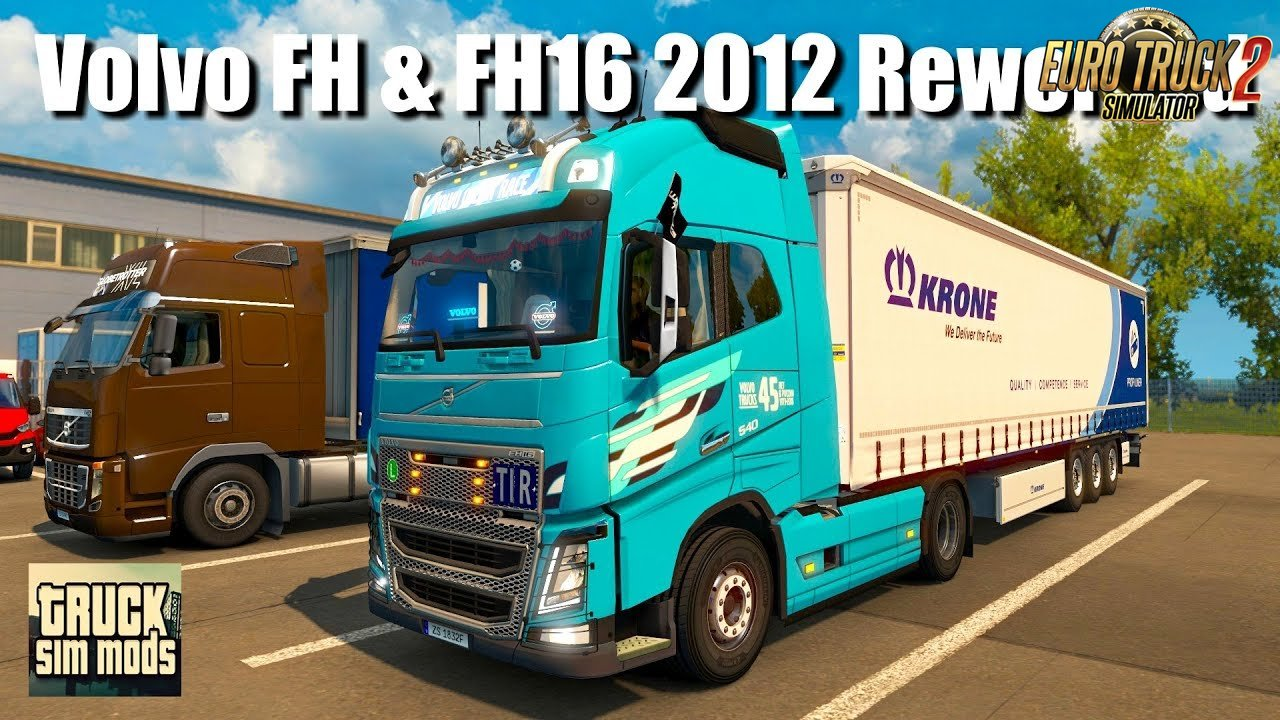 Volvo FH & FH16 2012 Reworked v3.1.2 (1.32.x) - Euro Truck Simulator 2