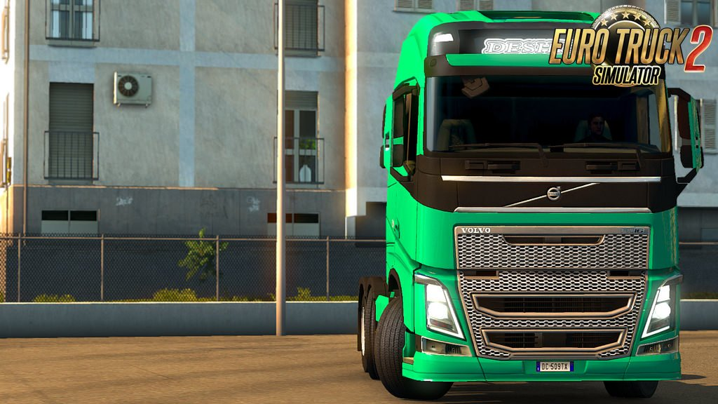 Skin Deshko Spedition for Volvo FH16 v1.0 (1.32.x)
