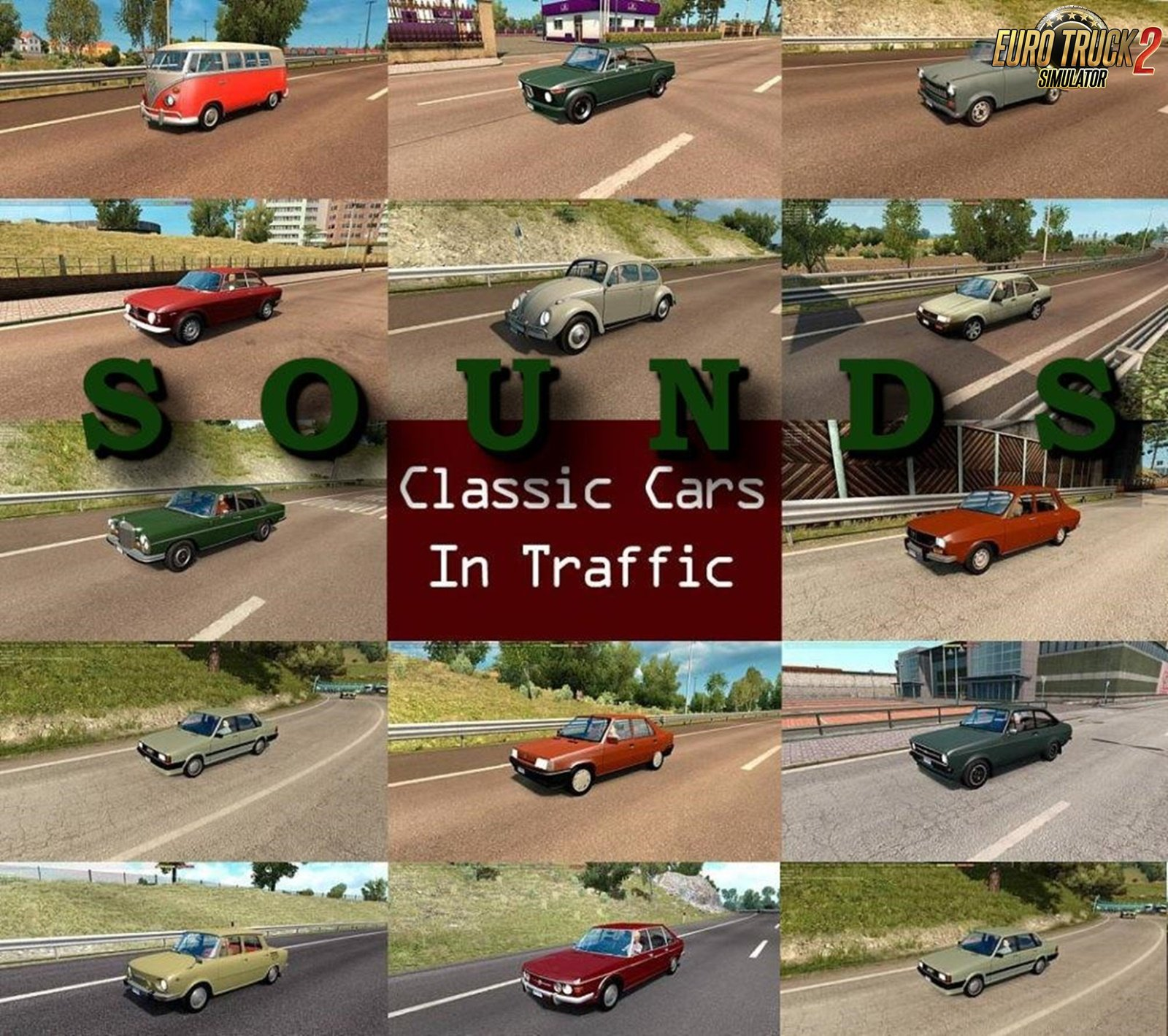 Sounds for Classic Cars Traffic Pack v1.7 by TrafficManiac