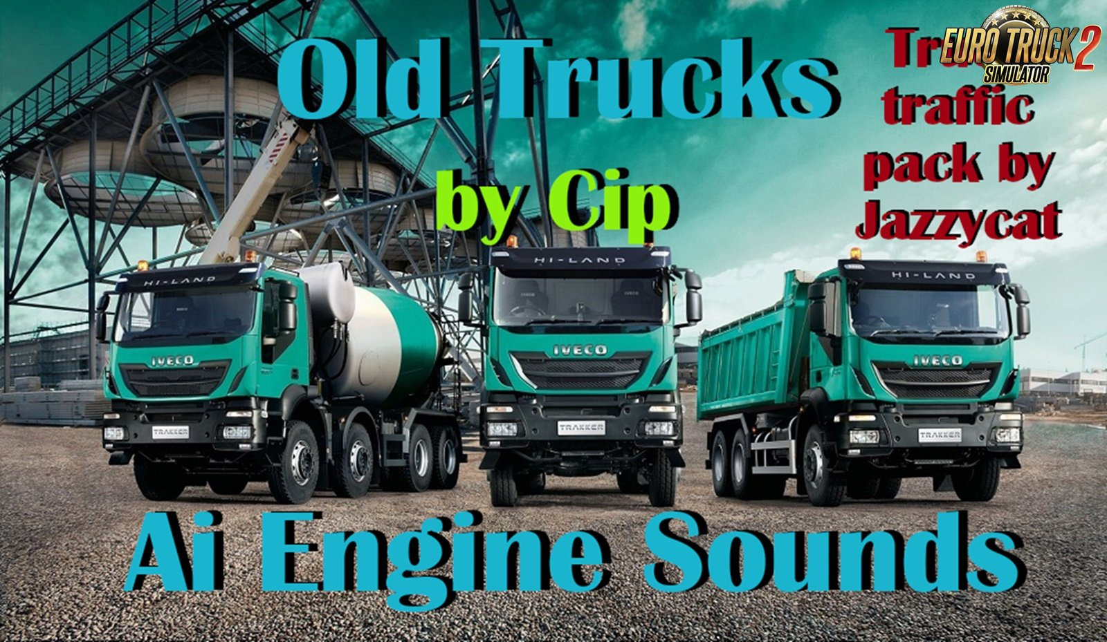 Old Trucks Ai Engine Sounds v1.1 for Jazzycat Truck pack 3.1.1
