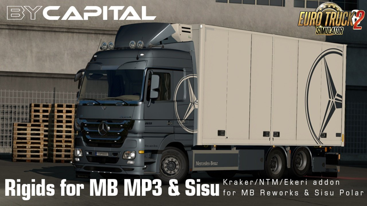 Rigid chassis for MB MP3 & Sisu Polar Mk1 v3.8 By Capital [1.32.x]
