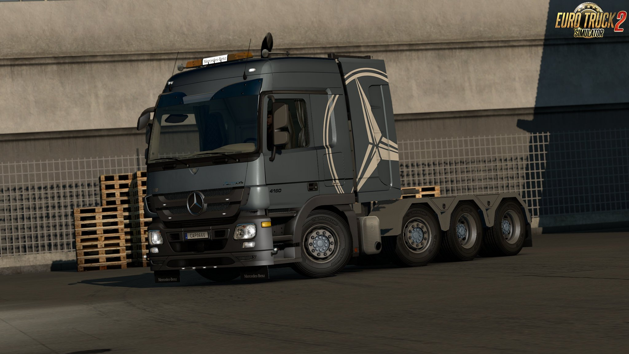 MB Actros MP3 Reworks v4.0.2 - ByCapital [1.35.x]