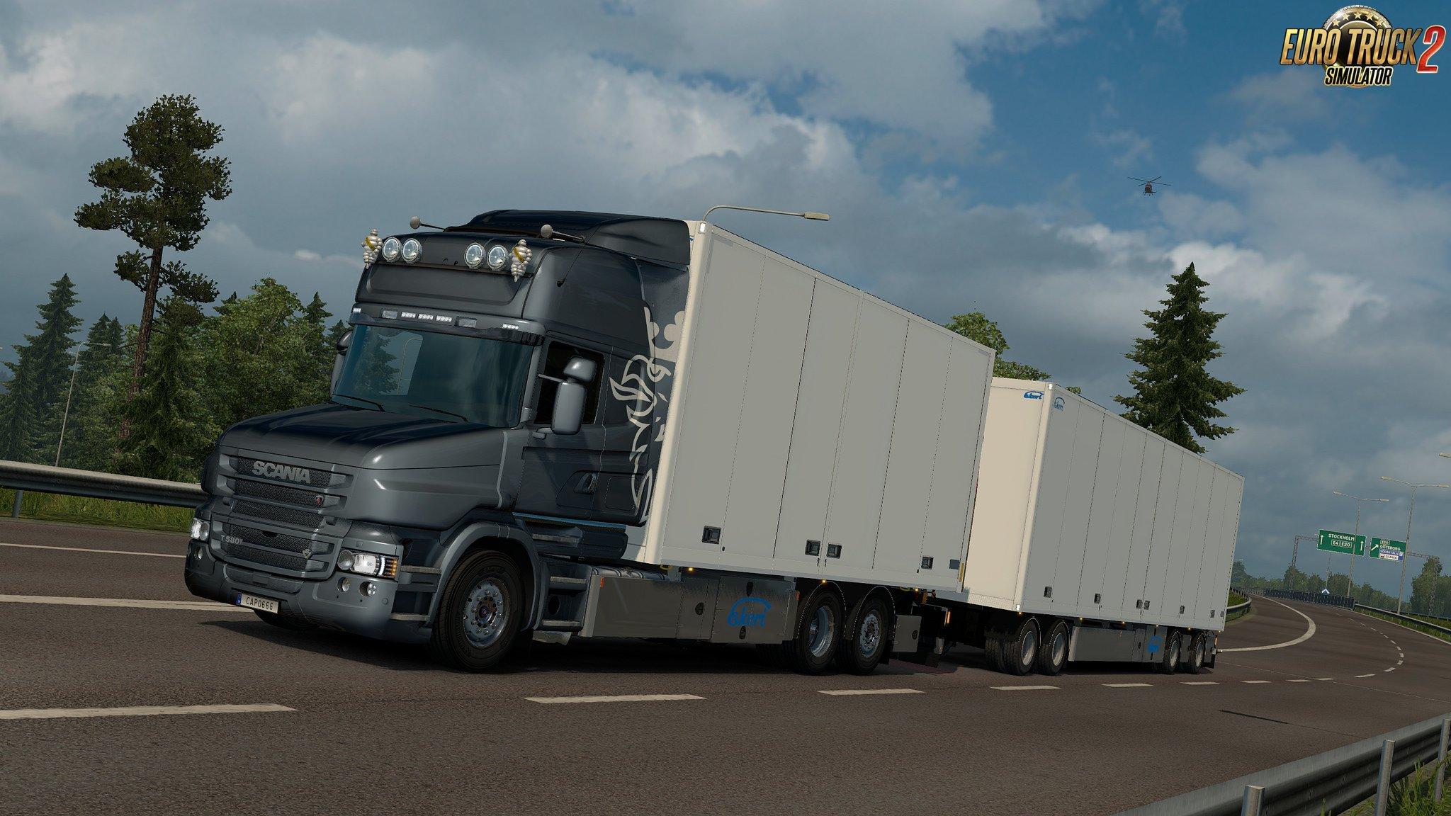 Rigid chassis for RJL Scania T & T4 (Kraker/NTM/VAK/Ekeri) v3.2 - ByCapital