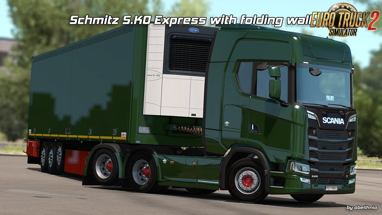 Schmitz S.KO EXPRESS with Folding Wall v1.4 [1.32.x]