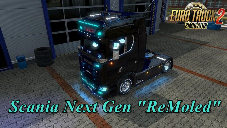"Scania Next Gen ""ReMoled"" v1.6.1 [1.32.x]"