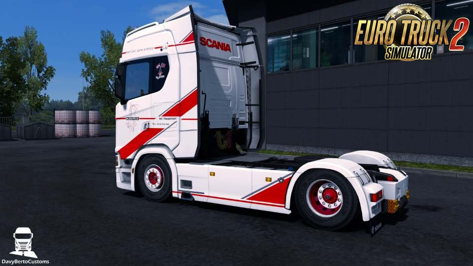 Hazeleger Skin for Scania S v1.0 by DavyBerto (1.32.x)