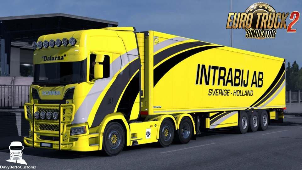 Scania S Intabij AB Combo Skin v1.0 (1.32.x)