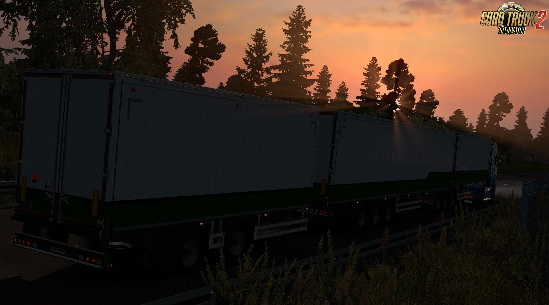 [MP] New Trailer Double Configurations (and more) v1.1 for Ets2