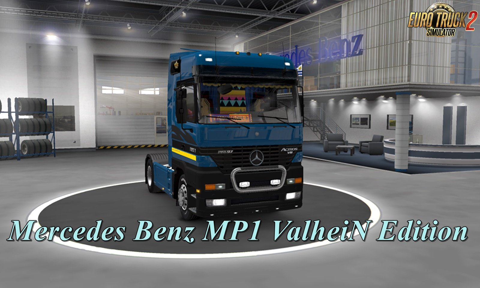 Mercedes Benz MP1 ValheiN Edition [1.32.x]