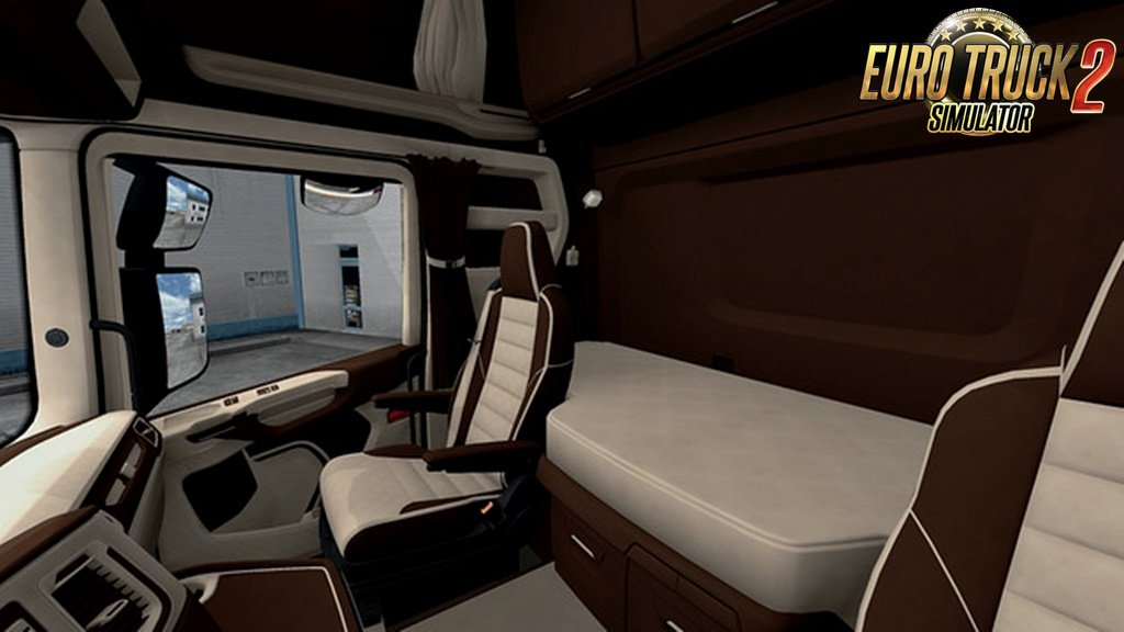 Scania S&R CMI Brown & Beige Interior by Carmichael