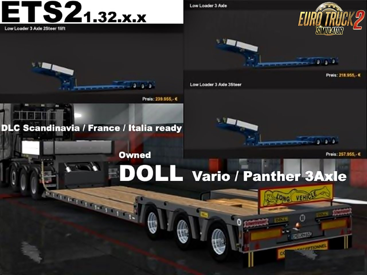 Doll 3Axle low loader owned v7