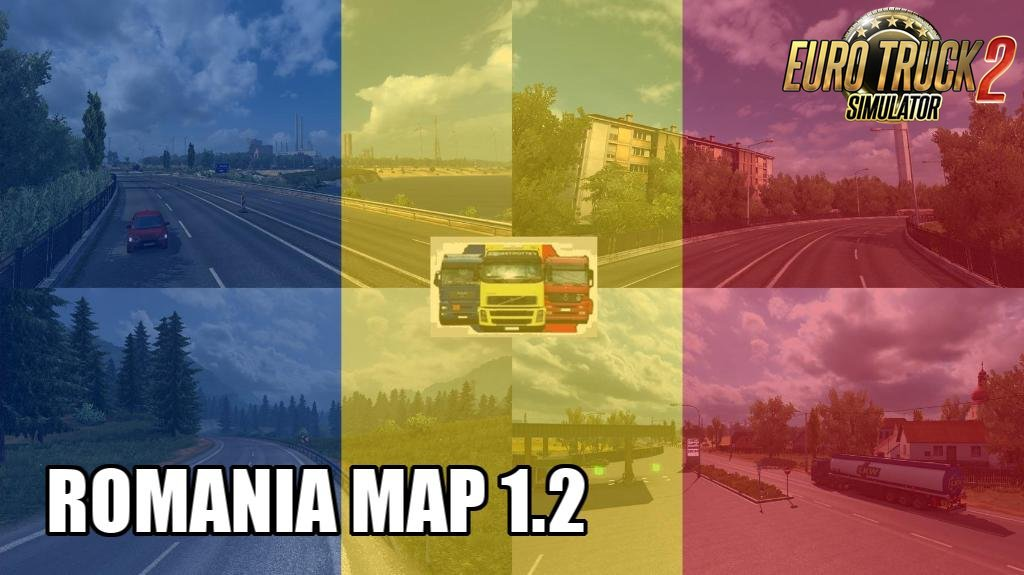 ROMANIA Map v1.2 by MIRFI (1.32.x)