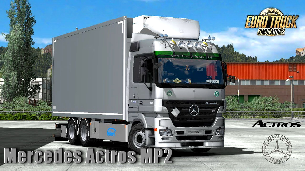 Mercedes Actros MP2 RC3.1 v3.1 (1.32.x)
