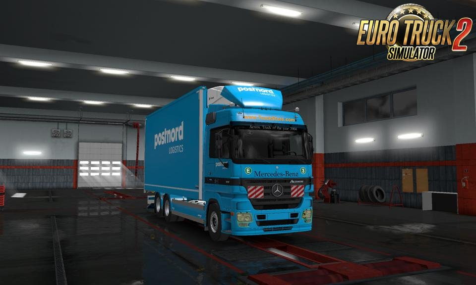 Mercedes Actros MP2 RC3.0 v3.0 (1.32.x)