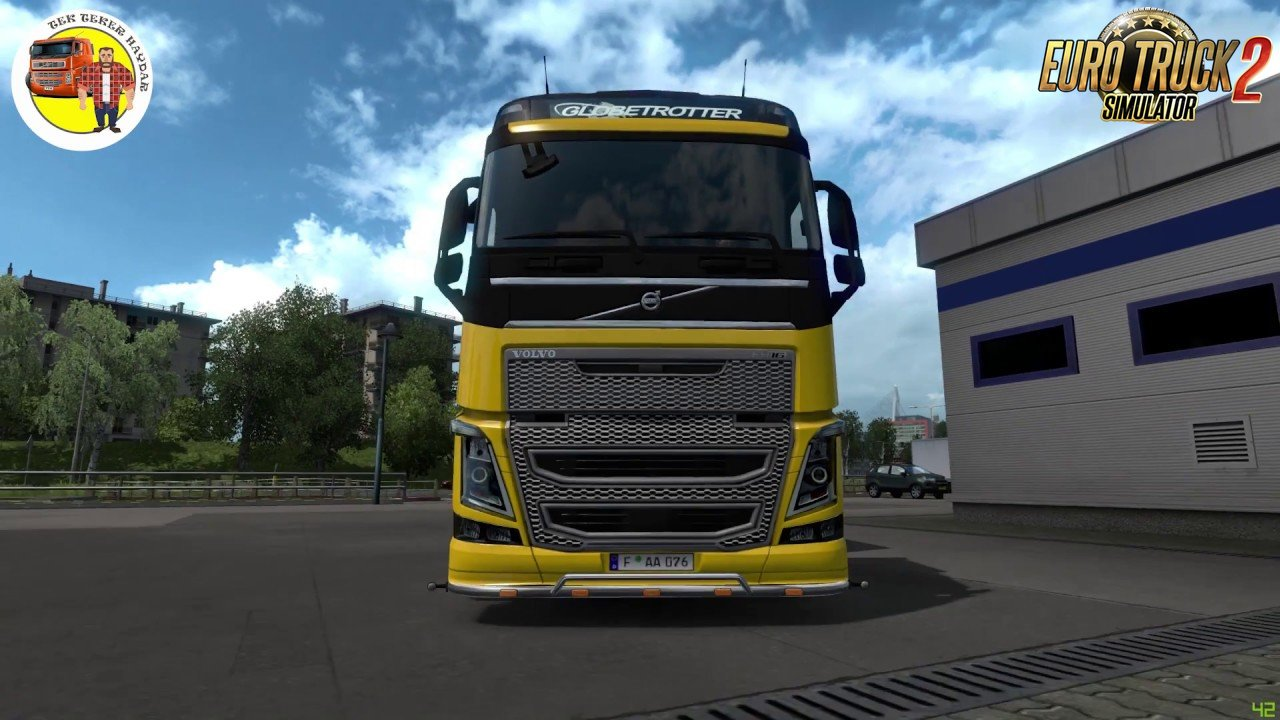 Volvo FH16 2012 High Quality Headlight