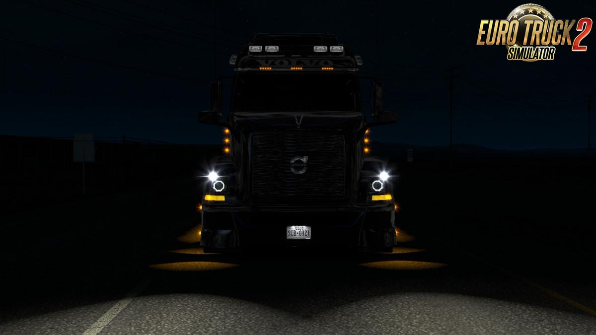 Angel Eyes for truck Volvo VNL 670 by Aradeth.