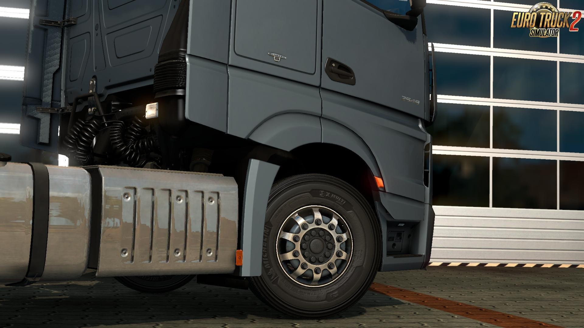 LS Wheels Pack v0.5 for Ets2