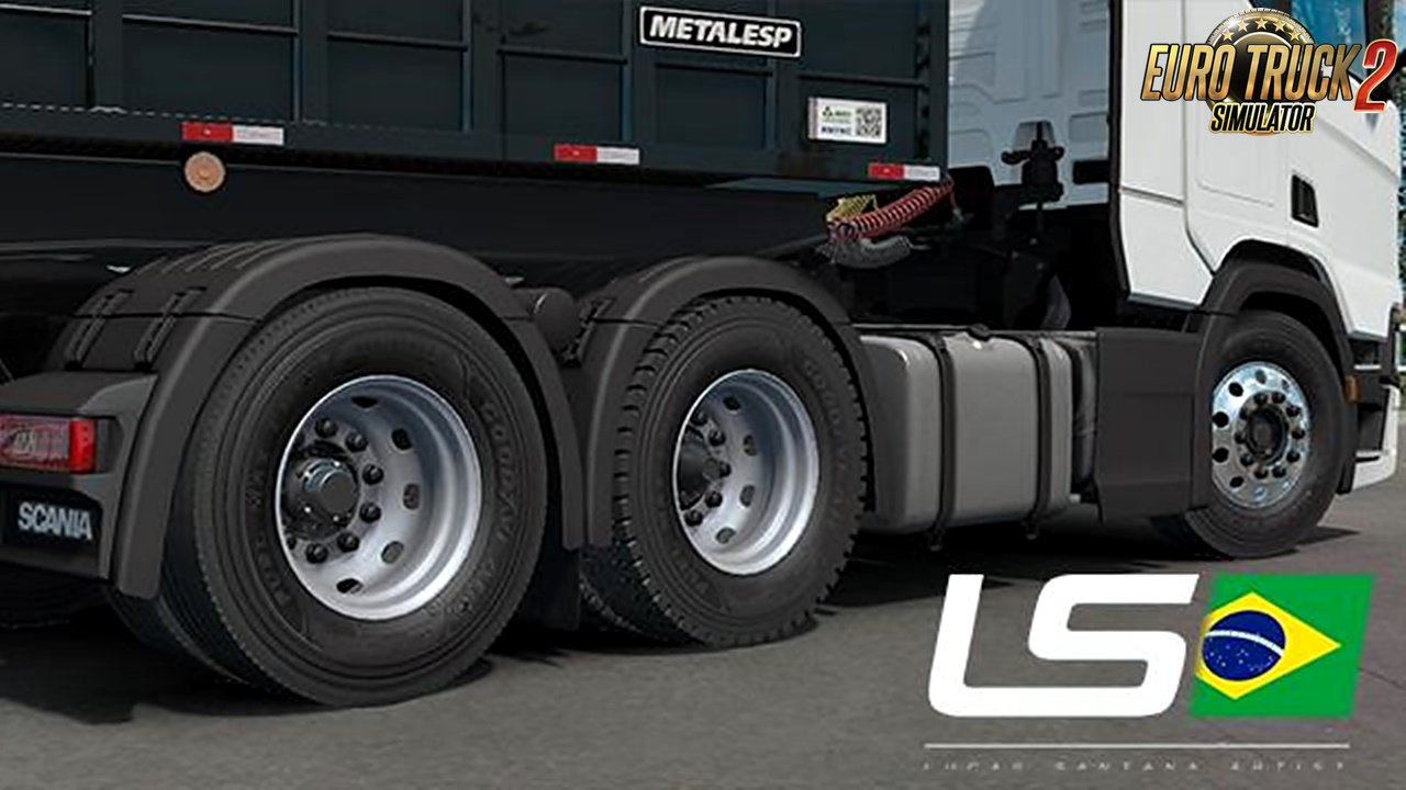 LS Wheels Pack v0.5 for Ets2