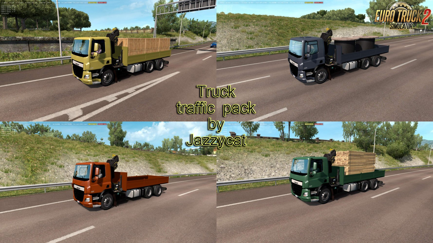 Truck Traffic Pack v3.2 by Jazzycat
