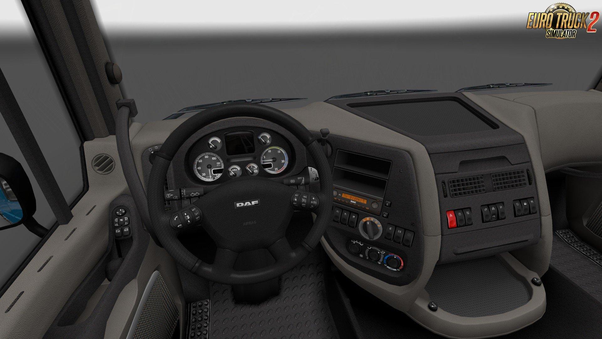 SiSLs DAF XF 105 Interiors v1.0 (1.32.x)