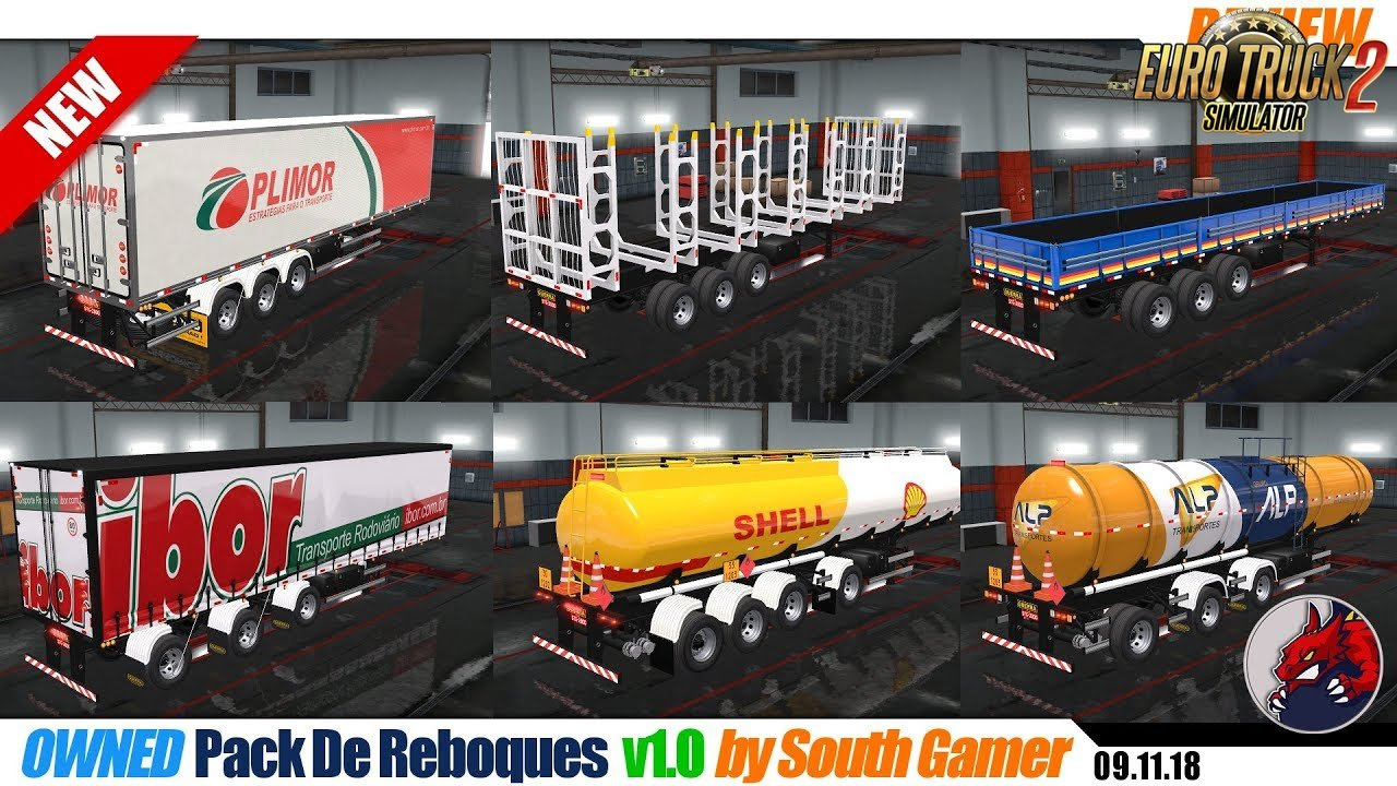 Pack De Reboques-owned v1.0 by South Gamer