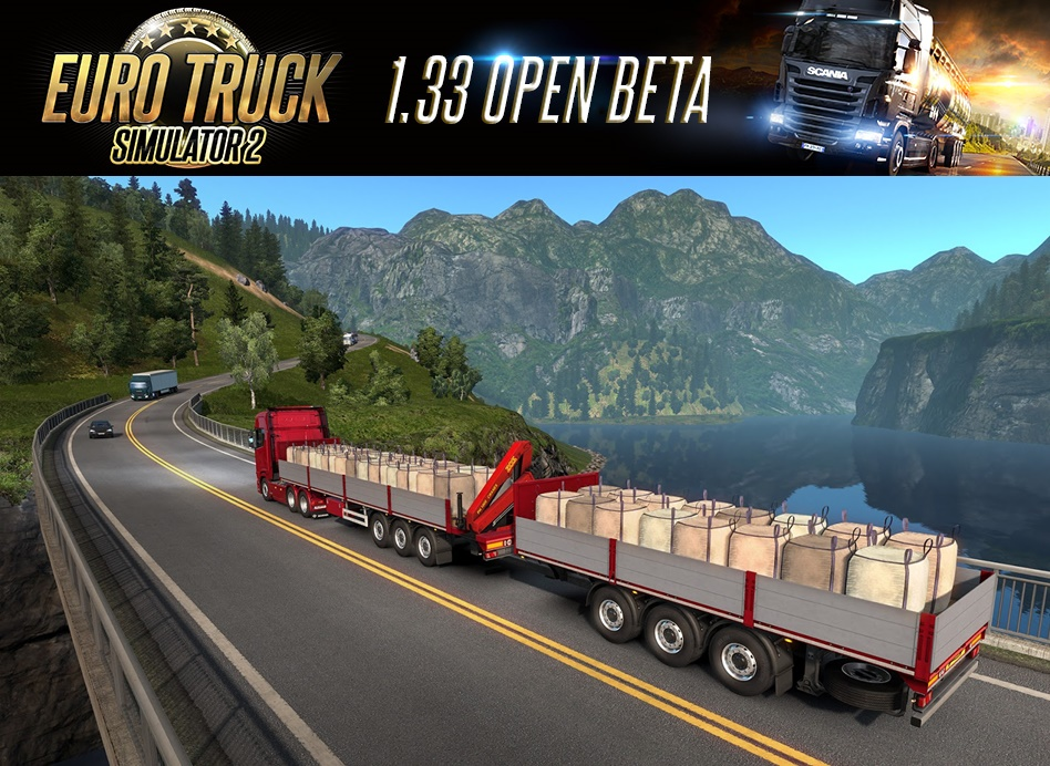 Euro Truck Simulator 2 Update 1.33 Open Beta