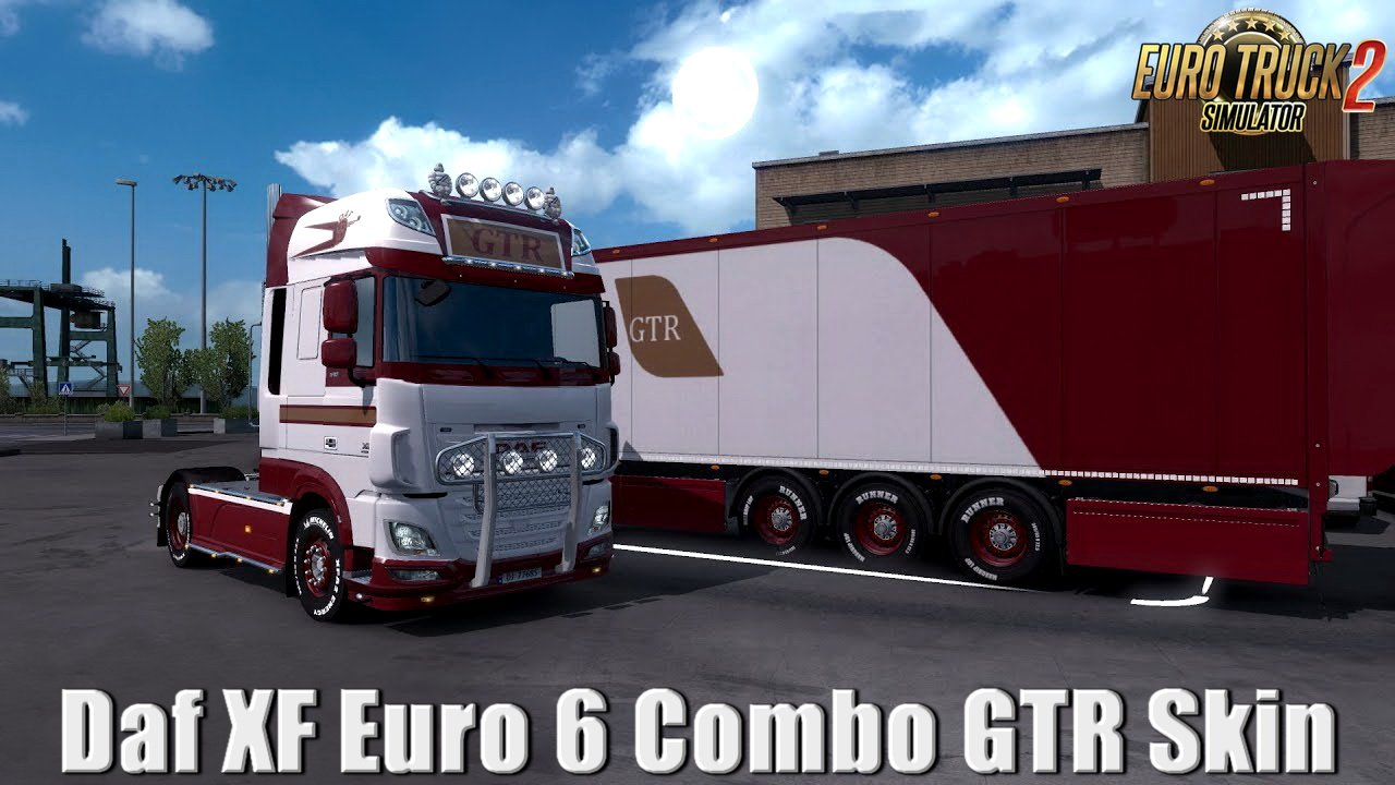 Daf XF Euro 6 Combo GTR Skin v1.0 (1.33.x)
