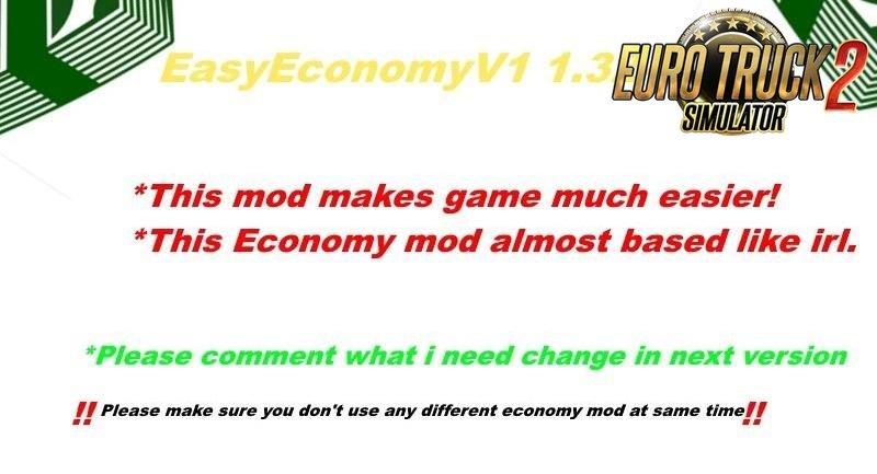 Easy Economy Mod v1.0 (1.32.x-1.33)