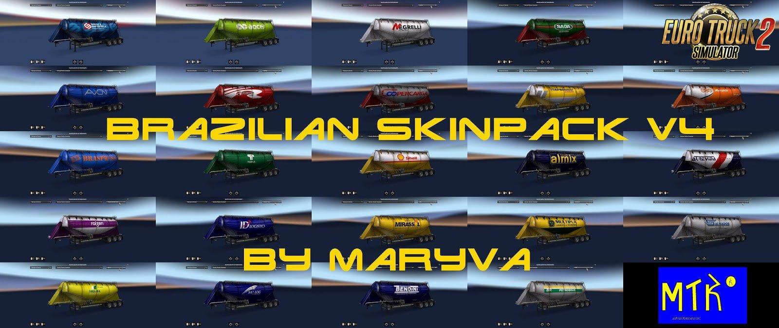 Brazilian Skinpack v4 by Maryva