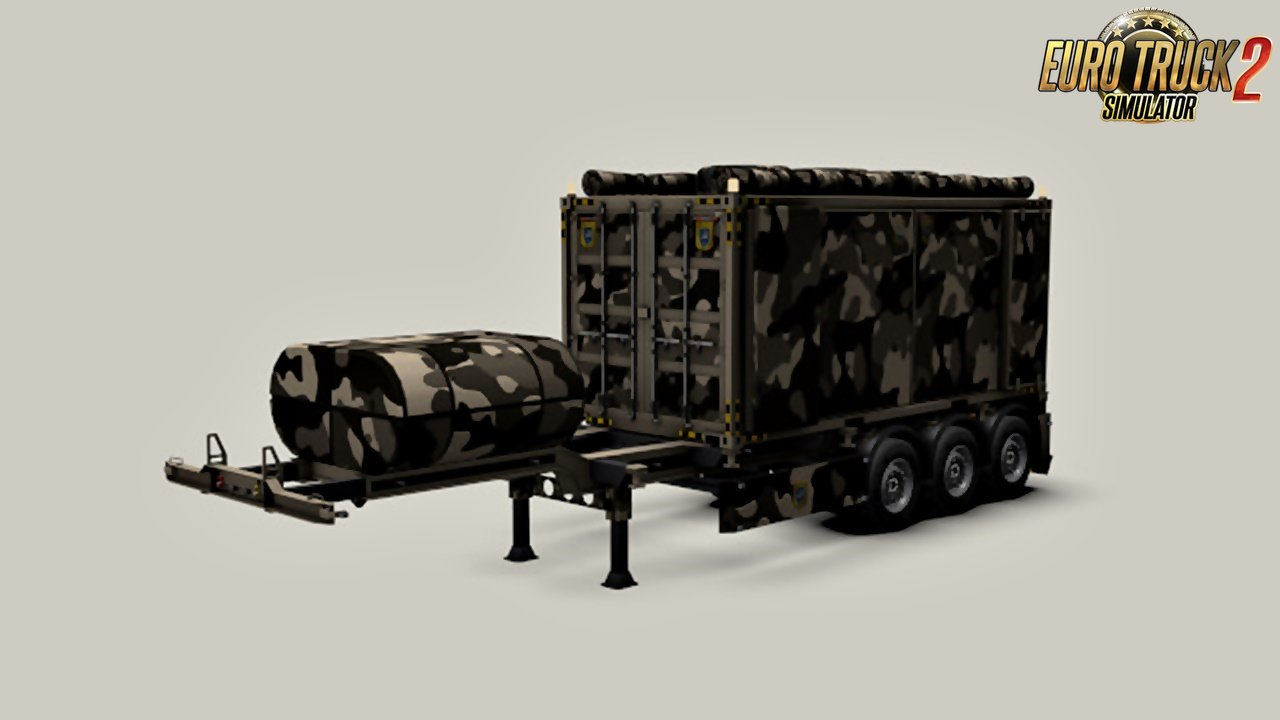Container G3 Military Gooseneck v1.0 by SASq