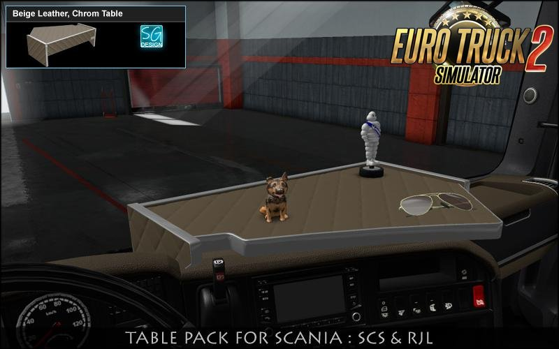 Scania Table Pack v1.0 by SGDESIGN