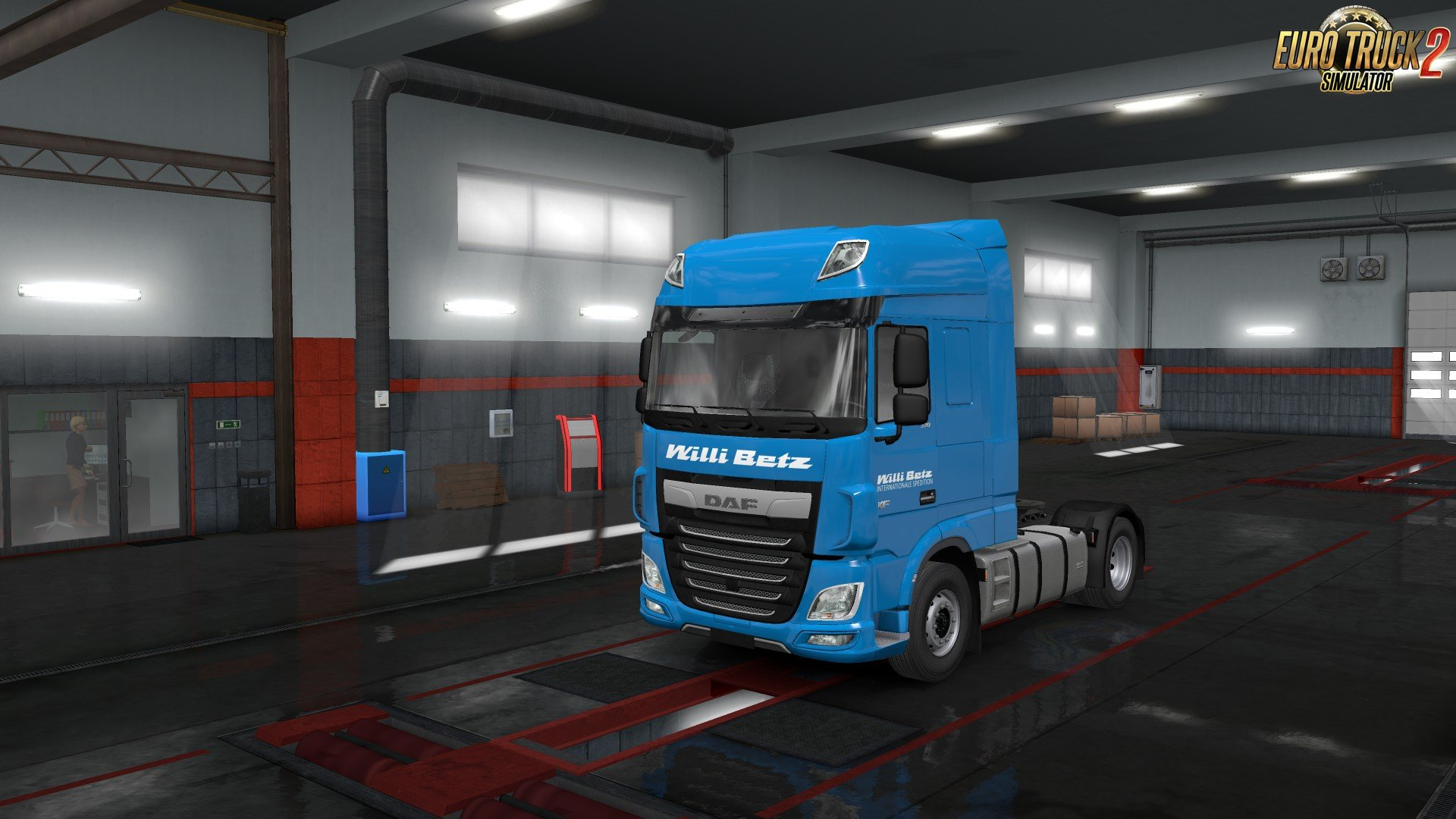 European Logistics Companies Paint Jobs Pack for Ets2