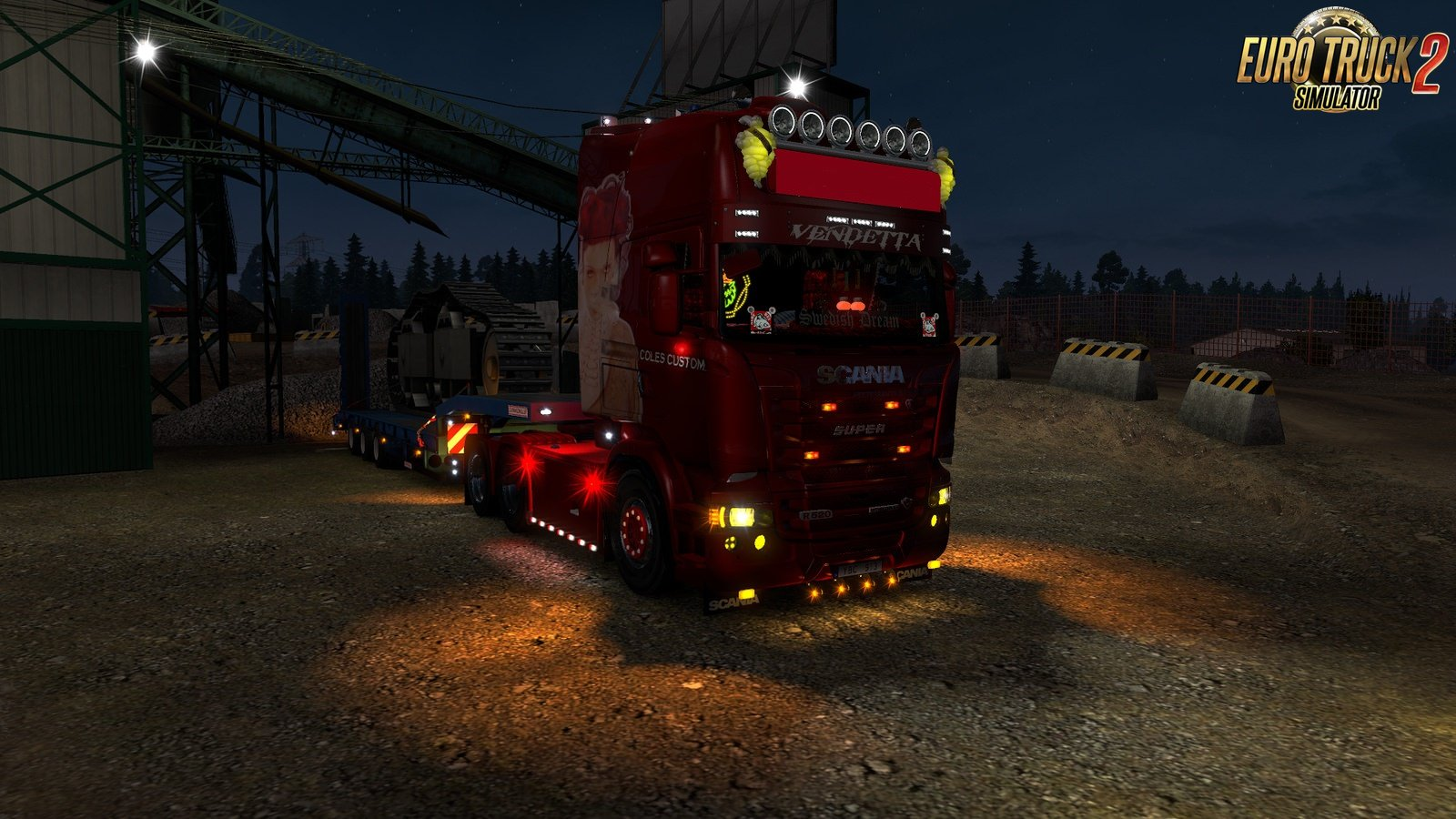 Scania Next Generation Exhaust Pipe [1.32.x-1.33.x]