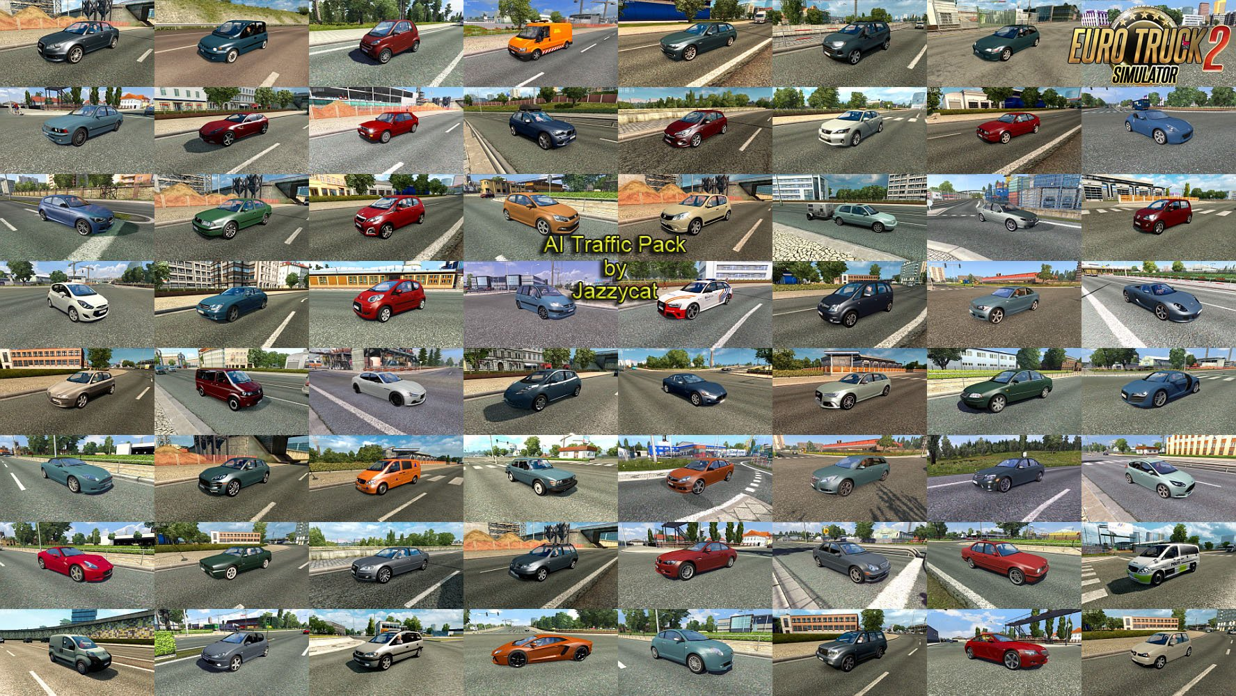 AI Traffic Pack v8.9 by Jazzycat