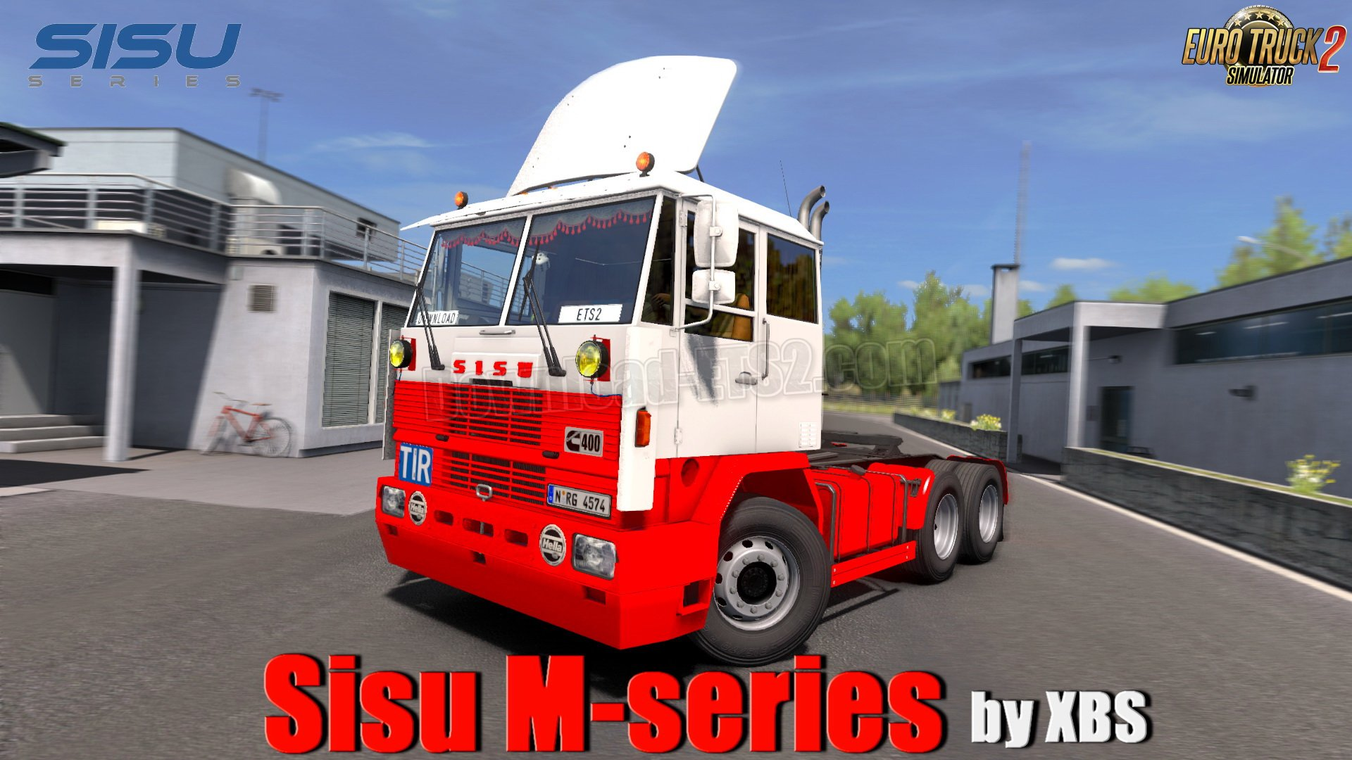 Sisu M-series + Interior v1.2 by XBS (1.35.x)
