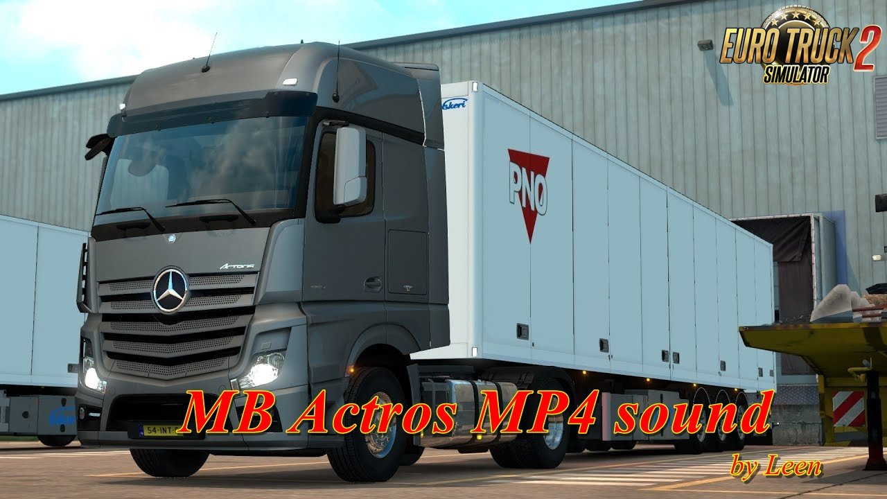 Mb Actros Mp4 Sound-Updated by Leen