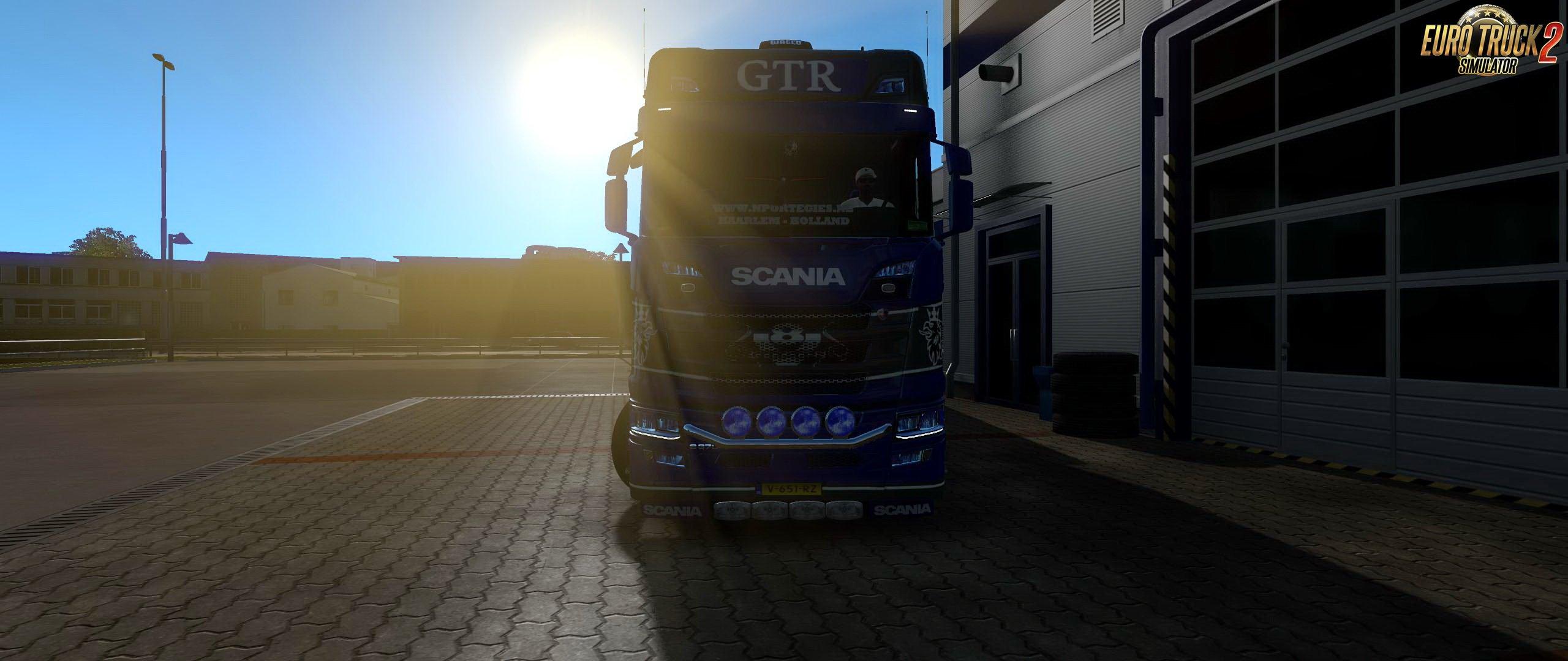 Scania S Tandem v1.1 by GTR (1.33.x)