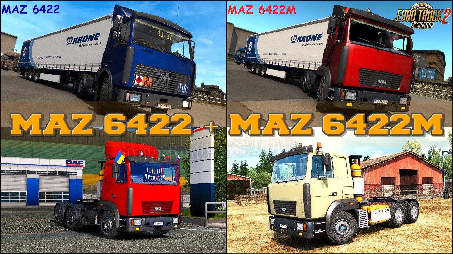 MAZ 6422 + MAZ 6422M v1.0 (1.33.x)