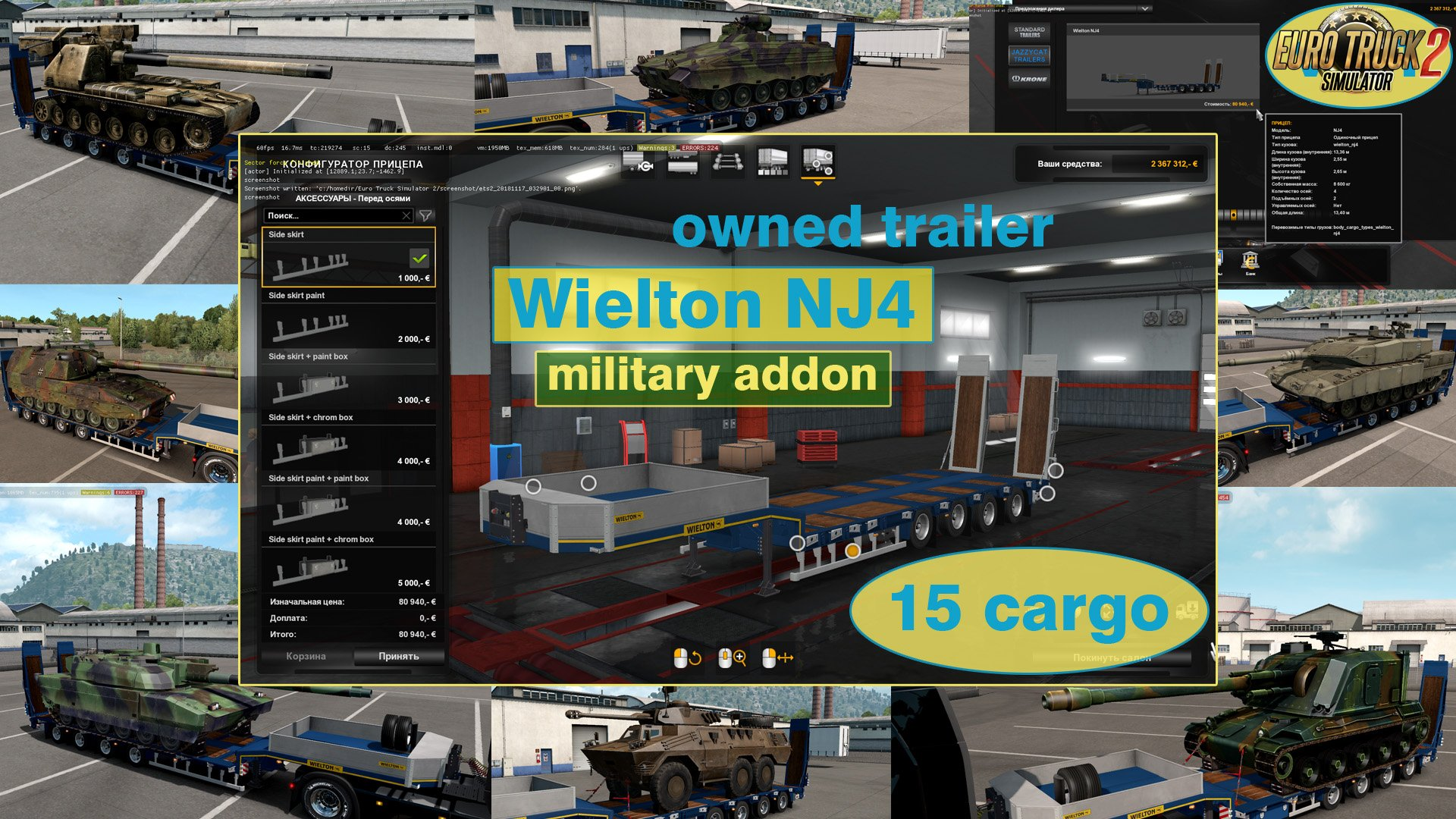 Military addon for Wielton NJ4 v1.1 by Jazzycat
