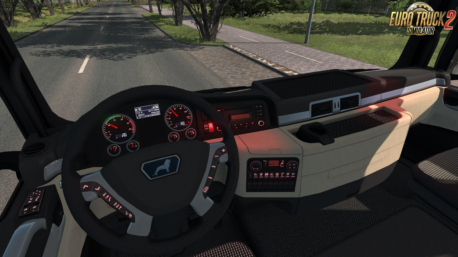 New Fix for MAN TGX Euro 6 v2.2 by MADster (1.35.x)