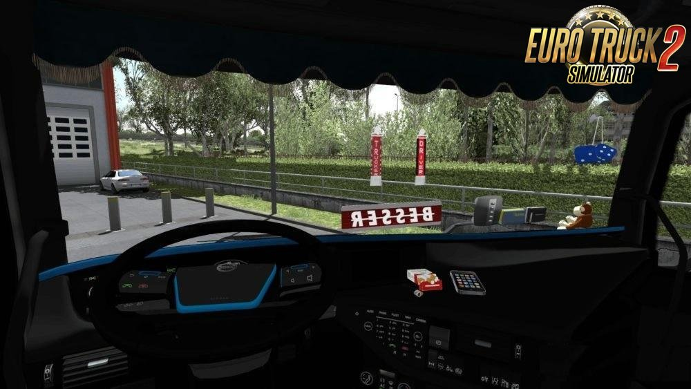 Volvo FH16 European Style Edit + Kogel Trailer v2.0 (1.33.x)